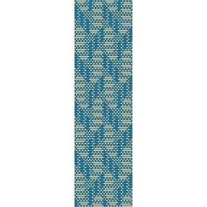 Loom Bead Pattern for Geometric #2 Cuff Bracelet