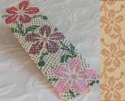 2 Loom Bead Patterns for Hawaiian Print Cuff Bracelets - 2 For Price Of 1
