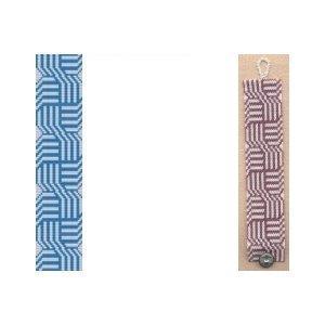 2 Peyote Bead Patterns - Celtic Knots Cuff Bracelets - 2 Colors For 1 Price