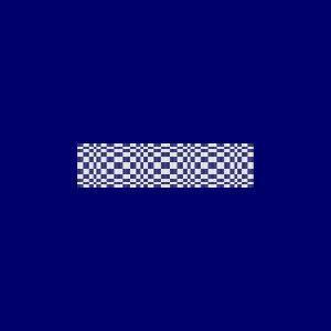 Loom Bead Pattern for Blue Illusion Cuff Bracelet