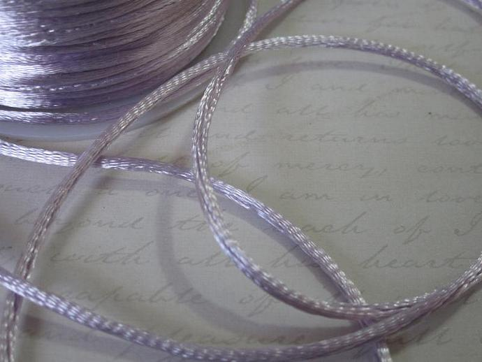 3yds - Orchid String Satin Ribbon