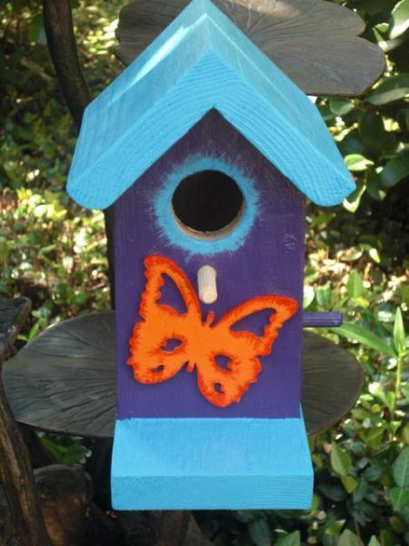 Birdhouse - Small Butterfly