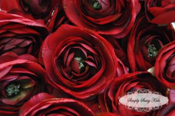Deep red 35in ranunculus silk flowers by simplysassysource on zibbet deep red 35in ranunculus silk flowers mightylinksfo