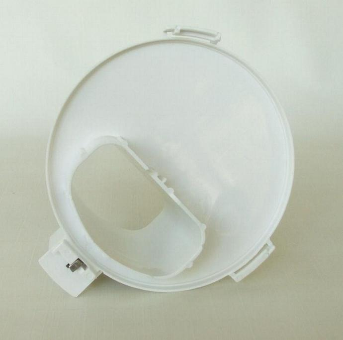 West Bend 6500 Food Processor Replacement Part High Performance Feed Chute White