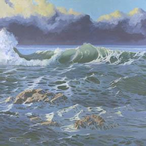 """""""The Calm Before The Storm"""" Canvas Giclee Print by Carol Thompson"""