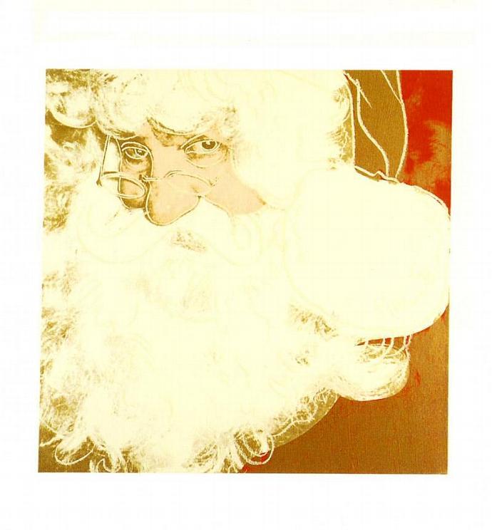 Andy Warhol Christmas 1995 Vintage Pop Art Lithographs