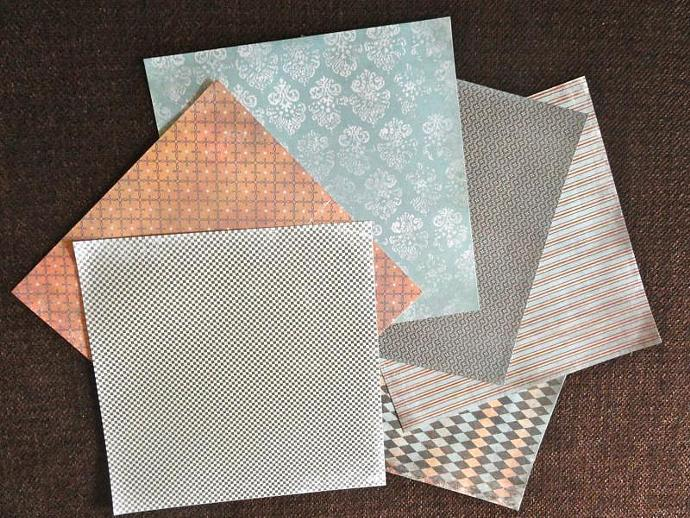 7 Gypsies 6x6 Venice Paper Bundle