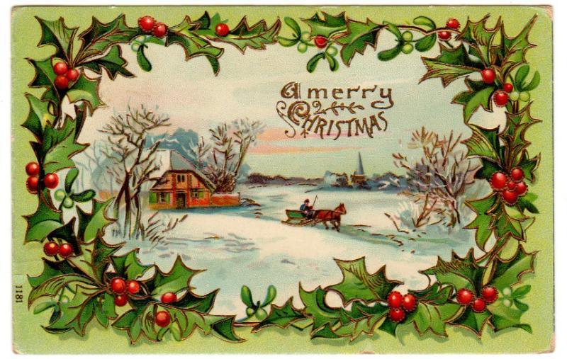 Vintage christmas cards with horses cowboy magic cowboy magic source m4hsunfo