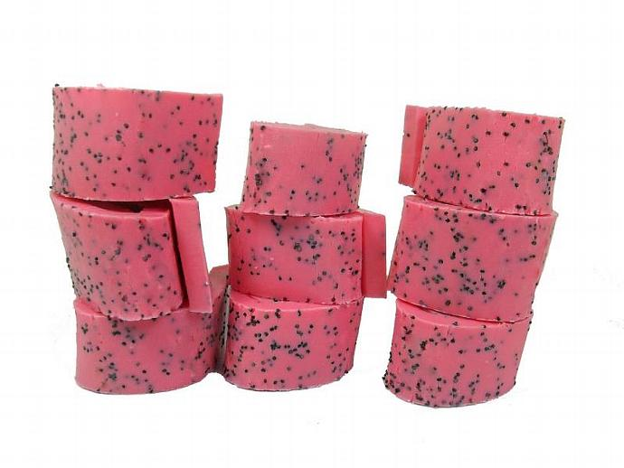 Strawberry Kiwi Soap Rolls - Cocoa Butter