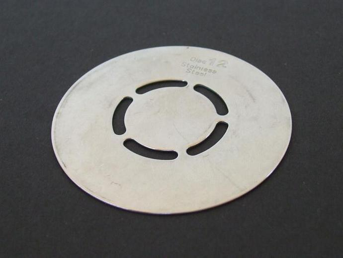 Cook's Essentials Cookie Maker Disk 12 Replacement Part 2.25""