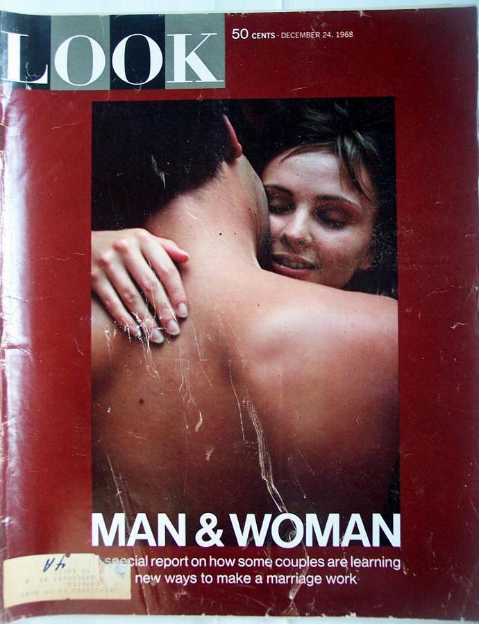 Vintage Look Magazine December 24, 1968 Man and Woman Chitty Chitty Bang Bang