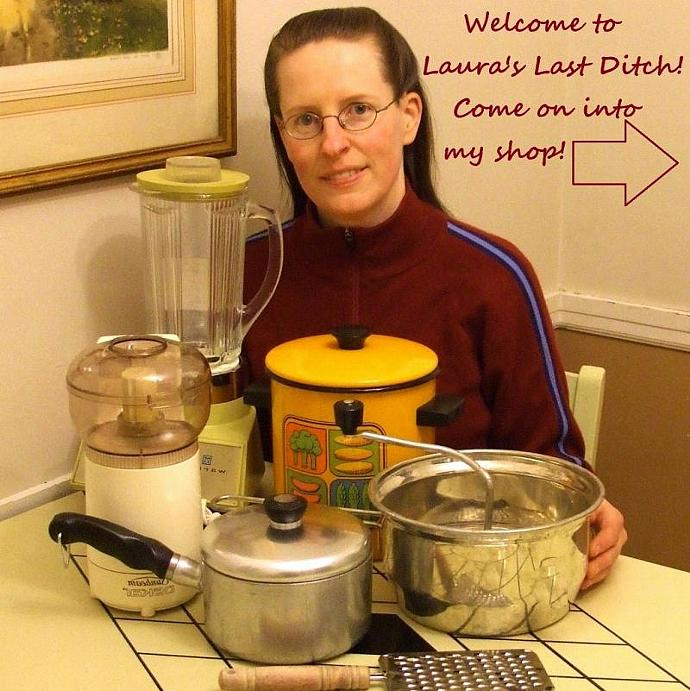 Presto Kitchen Kettle Replacement Part Side Handle - Vintage