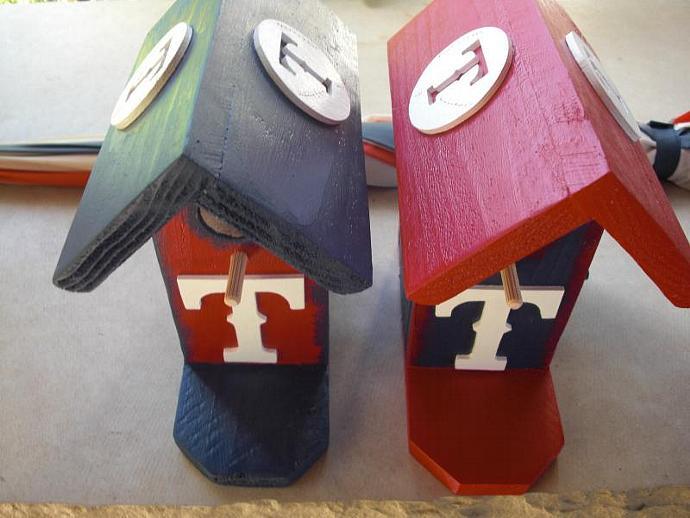 Birdhouse - Texas Rangers