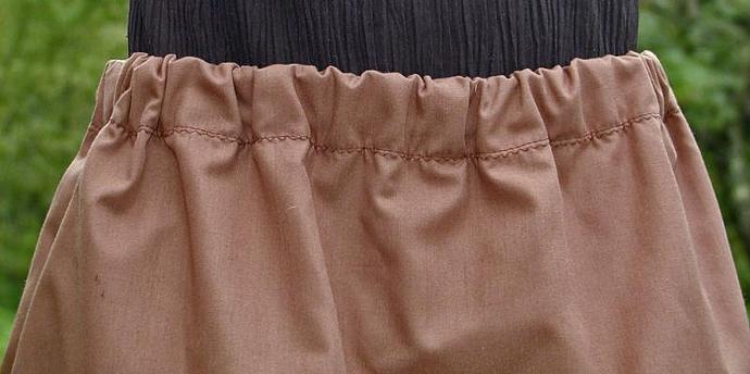 Girl's Skirlottes in Brown