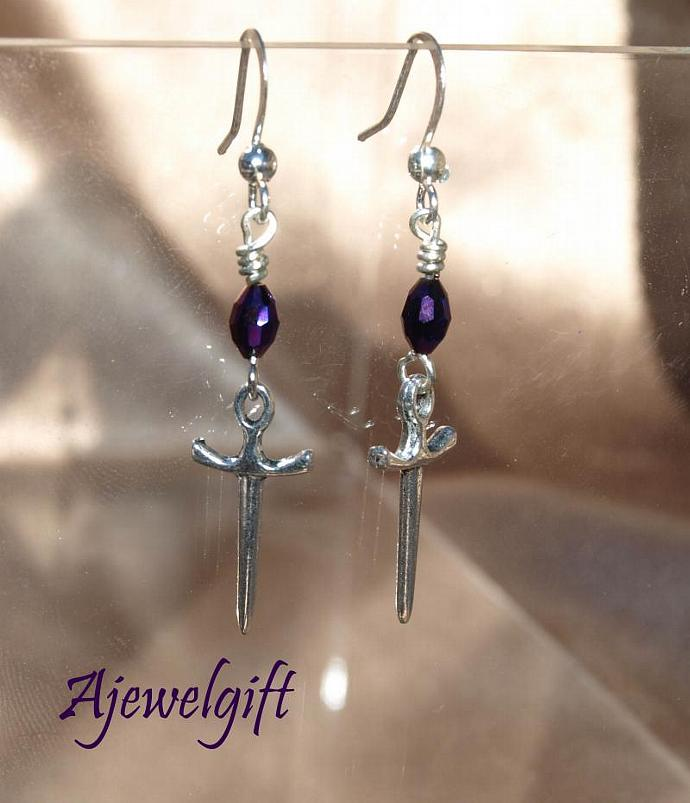 Dagger Earrings 10097