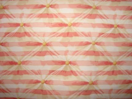 Girls Peach Striped Comforter Toddler Blanket