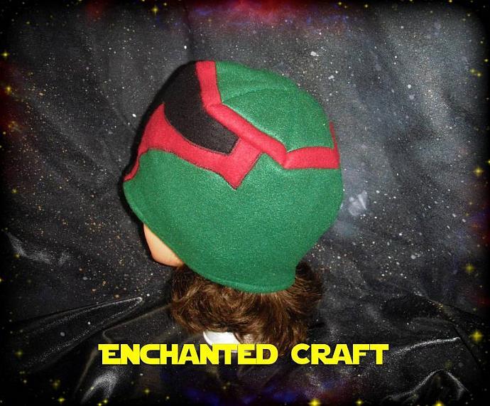 Fleece BOBA FETT beanie hat for the Star Wars fan