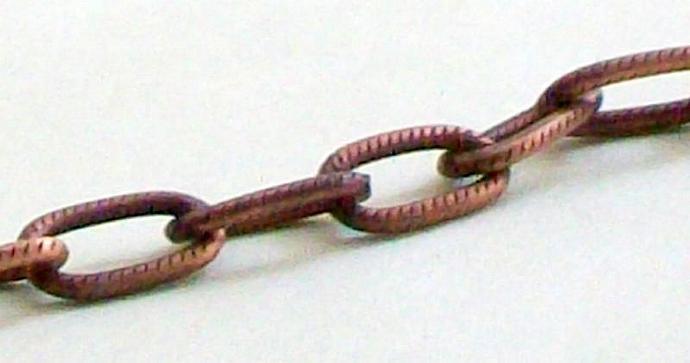 Copper Tree Pendant Necklace