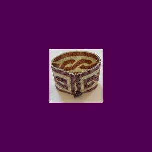 Peyote Bead Pattern for Celtic Knot Cuff Bracelet