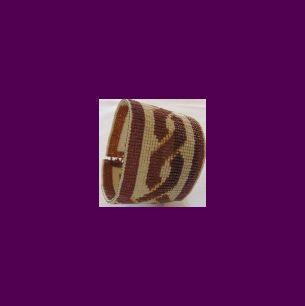 Loom Bead Pattern for Celtic Knot Cuff Bracelet