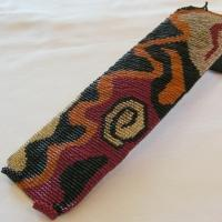 Loom Bead Pattern for Abstract Petroglyph Cuff Bracelet