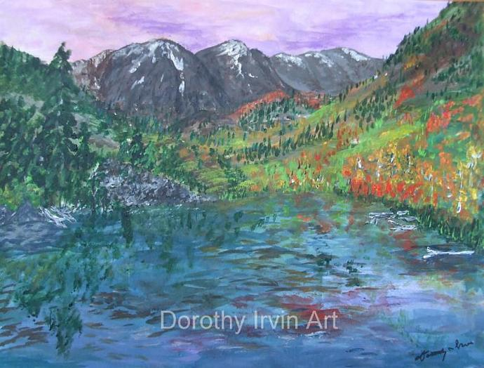 Autumn Near Aspen in the Rocky Mountains Art Print