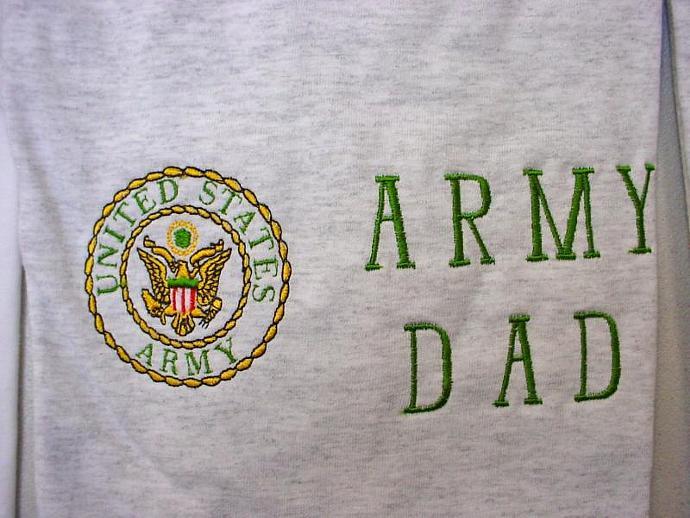 Army Dad Sweatshirt