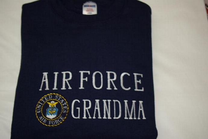 Air Force Grandma Sweatshirt
