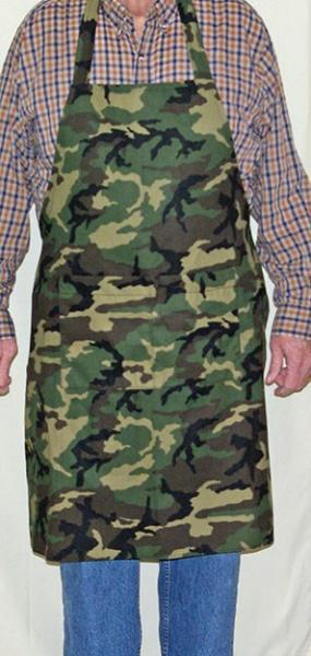 Camouflage BBQ Cooking Apron