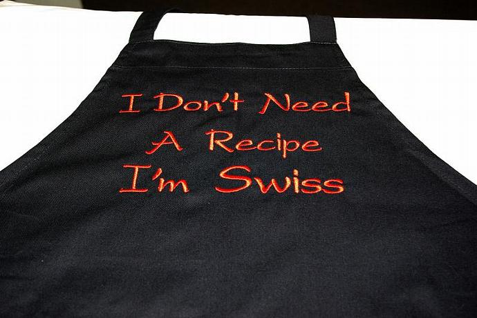 Swiss Cooking Apron