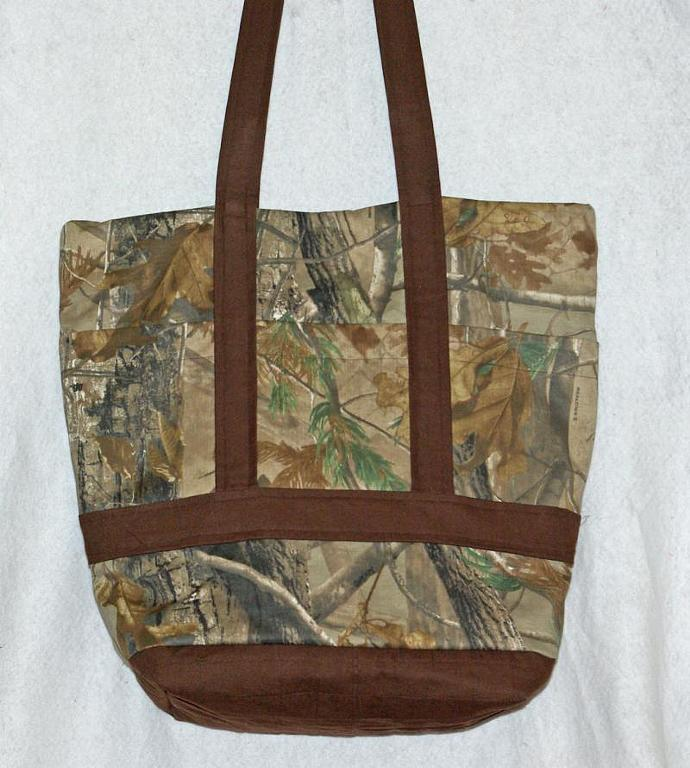 Dad's Camouflage Diaper Bag