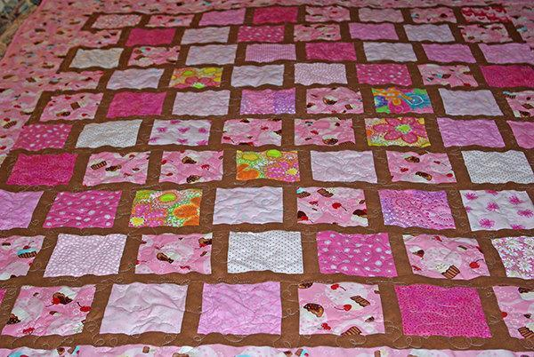 Cupcakes with Chocolate Quilt
