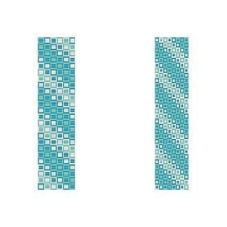 2 Loom Bead Patterns For The Price Of 1 - Oceans Squared Cuff Bracelets