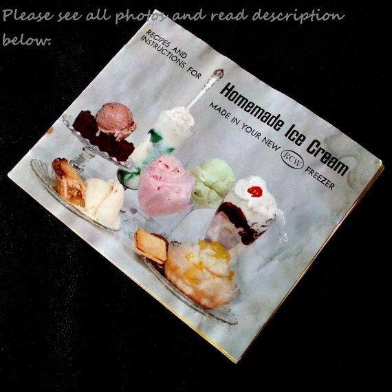 rcw ice cream maker instruction manual lauraslastditch rh lauraslastditch zibbet com