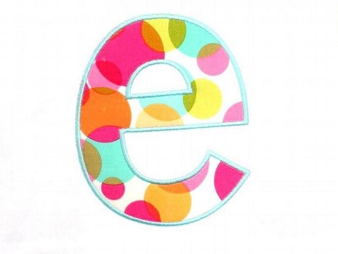 Cheri Font Applique BONUS NUMBERS Machine Embroidery Design
