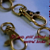 100 Gold Colored Lobster Swivel Clasps - 1.5 INCH
