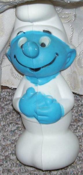 Vintage -  Smurf Baby Bank
