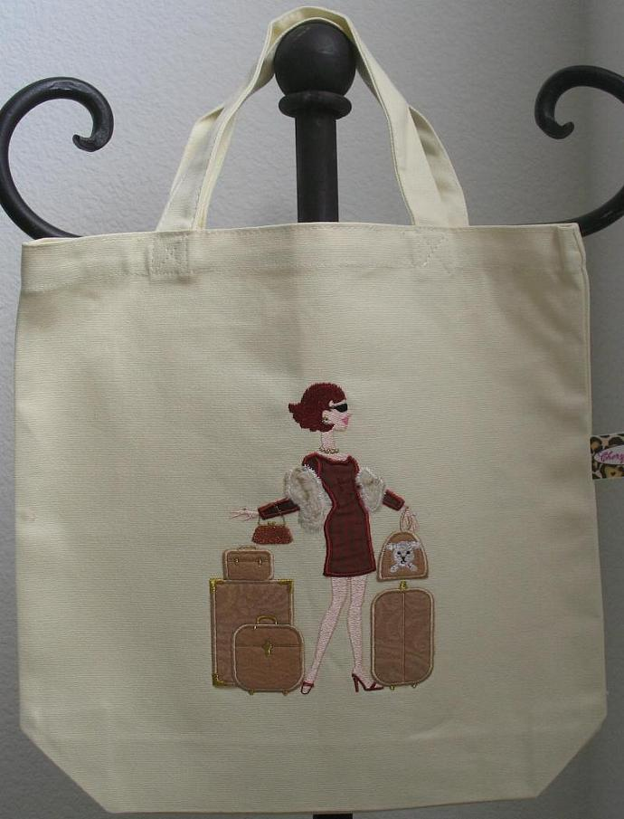 HIGH MAINTENANCE TRAVELLER (II) tote bag