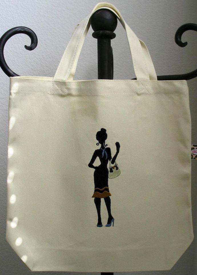 SHADOW SHOPPER tote bag