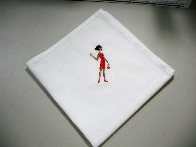 PARTY GIRLS cloth napkins