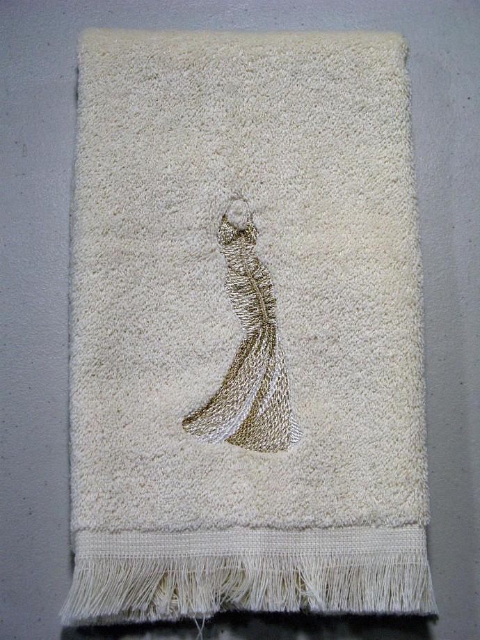 HOLLYWOOD GLAMOUR fingertip towel