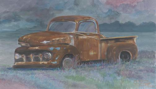 """""""A Story To Tell"""" Canvas Giclee Print by Carol Thompson"""