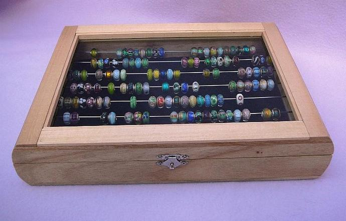 Trollbead And Pandora Glass Top Bead Box By Yourstoadorn