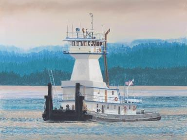 """Willamette Champion"" Canvas Giclee Print by Carol Thompson"