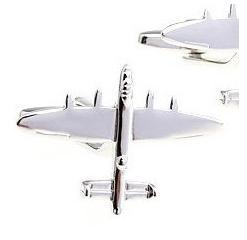 Airplane Jet Cufflinks