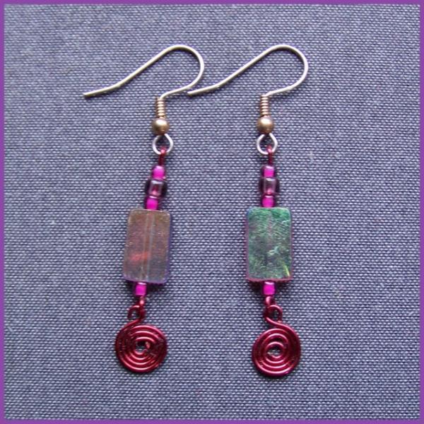 Mulberry Geometry Earrings