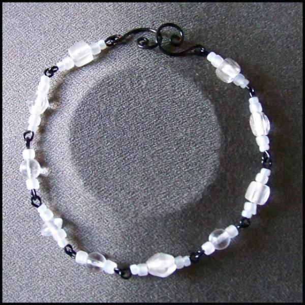 White and Black Bracelet