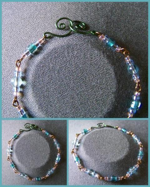 Pale Blue Green Bracelet