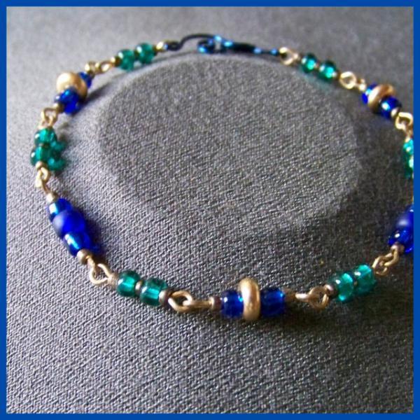 Blue Teal Bracelet