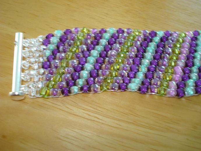 Lavender Field Celline Style Bracelet